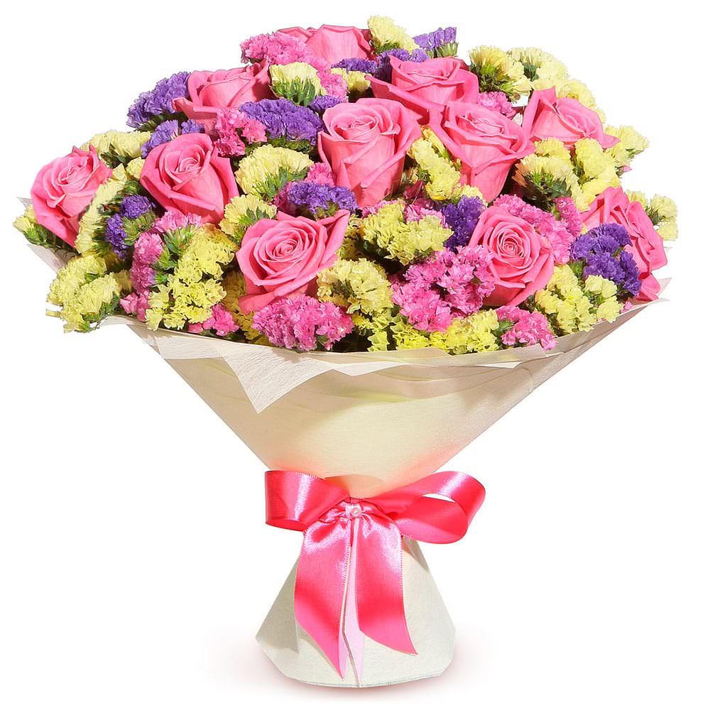 Мир цветов в подарок фото, букету классному