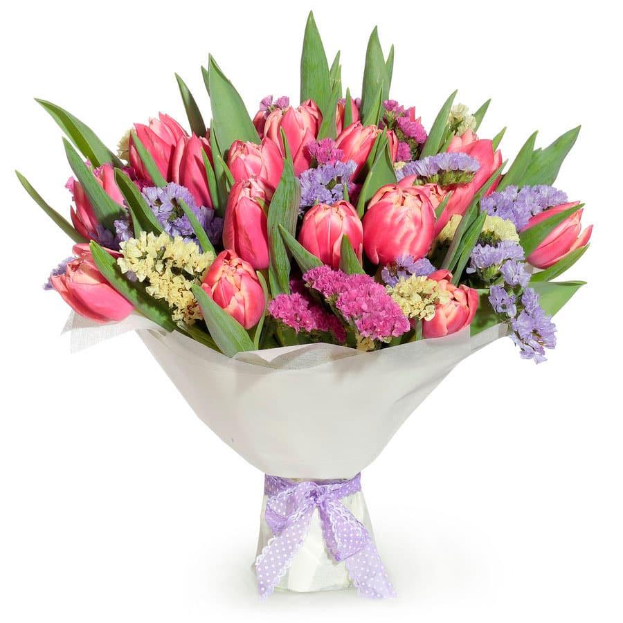 Букет, заказ цветов в белой калитве