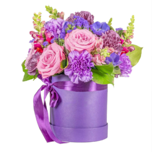 """Цветы в коробке """"Безупречность"""""""
