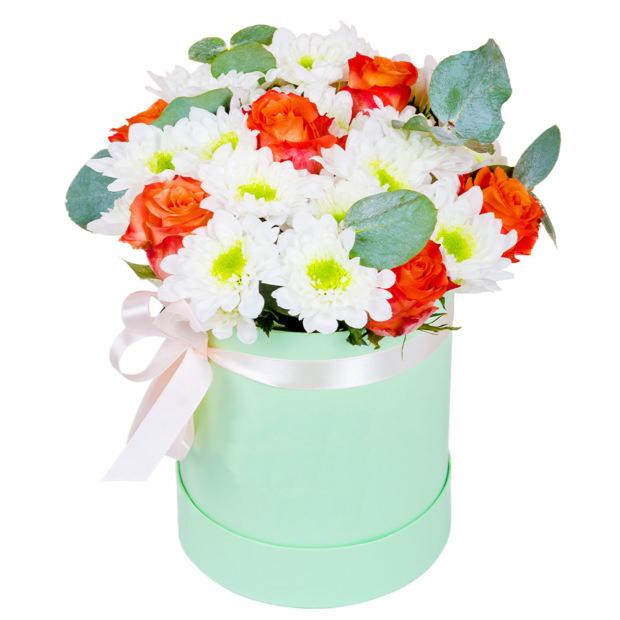 """Цветы в коробке """"Глория"""""""