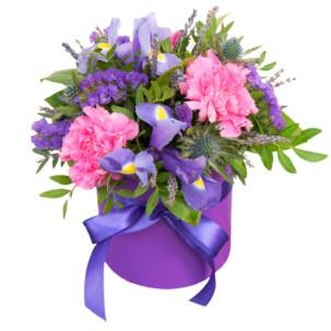 """Цветы в коробке """"Первая леди"""""""